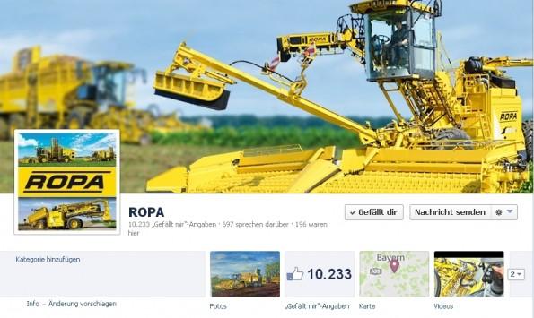 Facebook B2B Ropa