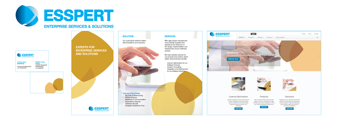 Startup Package ESSPERT GmbH - Braning durch Commento GmbH und HKSUSU