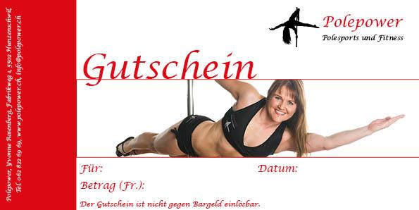 Gutscheinkarte Polepower - Commento GmbH