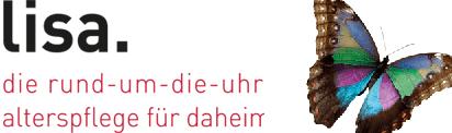 Corporate Design für lisa. die rund-um-die-uhr Alterspflege für daheim - Commento GmbH